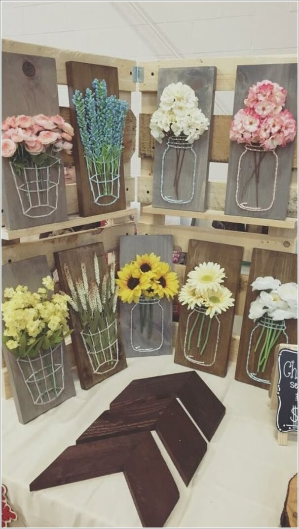 10 creative diy spring projects you would love to try for Arts and crafts to make at home