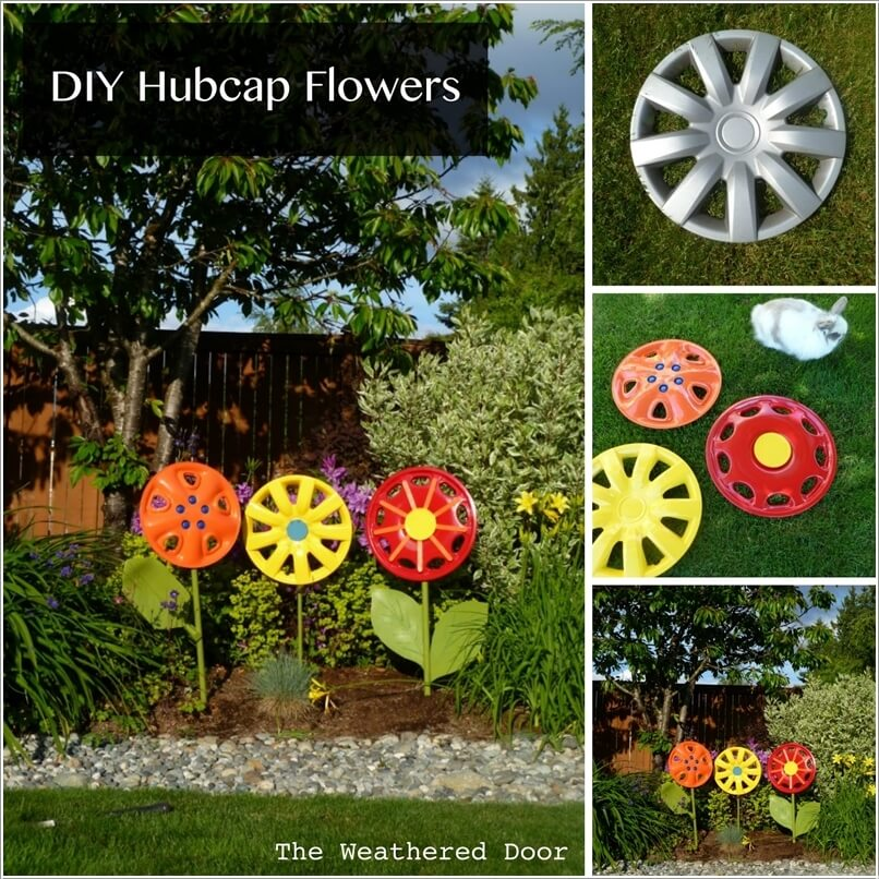 Flowers Out Of Recycled Materials - Flowers Healthy