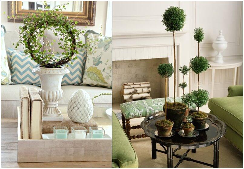 10 Creative Ways to Decorate Your Home's Indoor with Topiaries 5