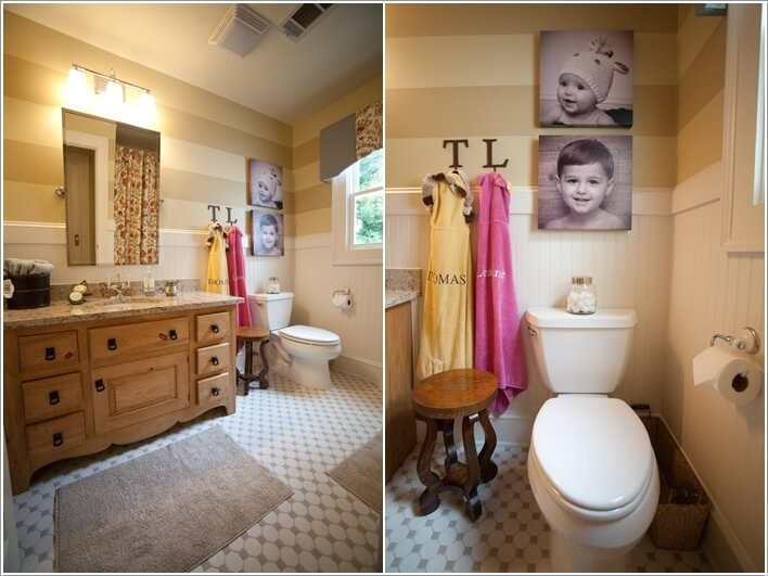 10 Cute Ideas for a Kids' Bathroom 2