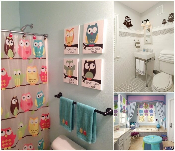 Great 10 Cute Ideas For A Kidsu0027 Bathroom A