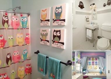 10 Cute Ideas for a Kids' Bathroom fi