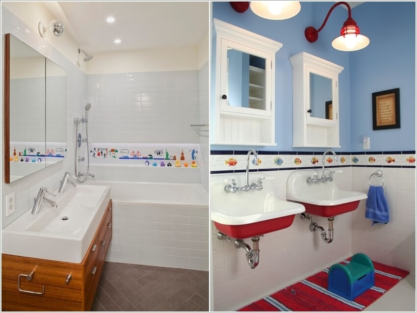 10 Cute Ideas for a Kids' Bathroom 3