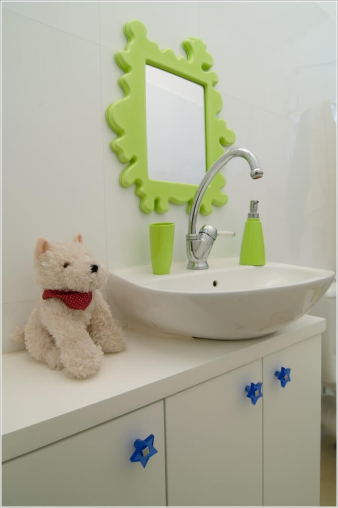 10 Cute Ideas for a Kids' Bathroom 4