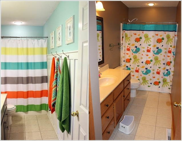 10 Cute Ideas for a Kids' Bathroom 5