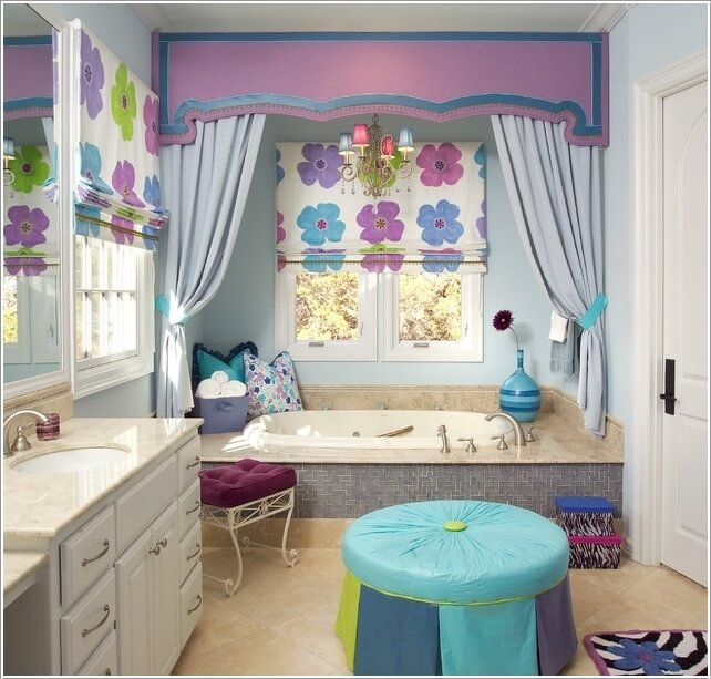 10 Cute Ideas for a Kids' Bathroom 7