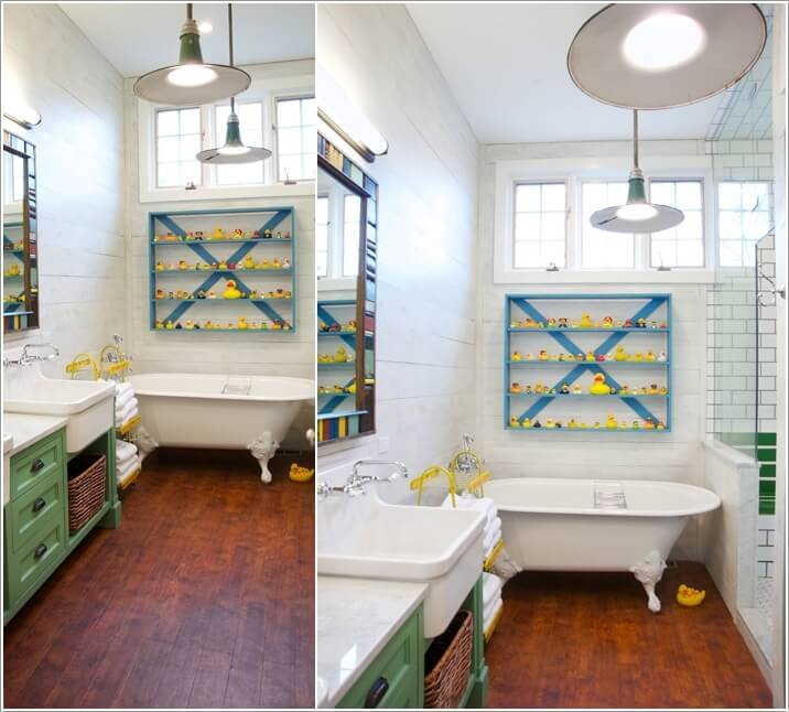 10 Cute Ideas for a Kids' Bathroom 8