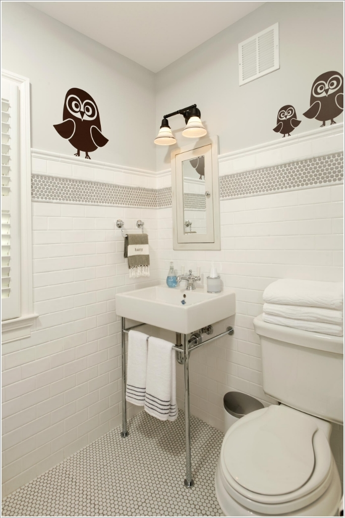 10 Cute Ideas for a Kids' Bathroom 9