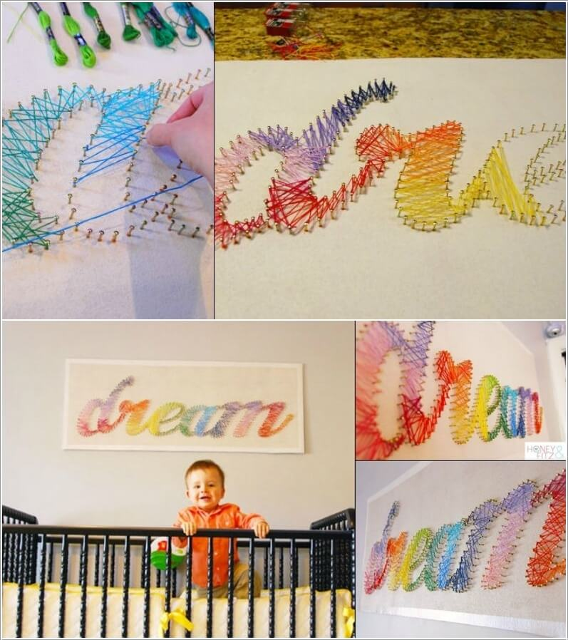13 DIY Decor Ideas for Your Kids' Room Wall 13