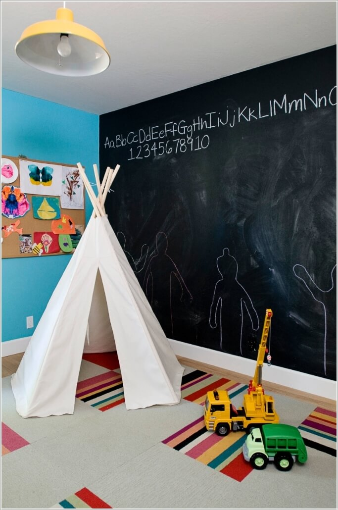 Wall Designs For Toddler Rooms : Diy wall decor projects for your kids room