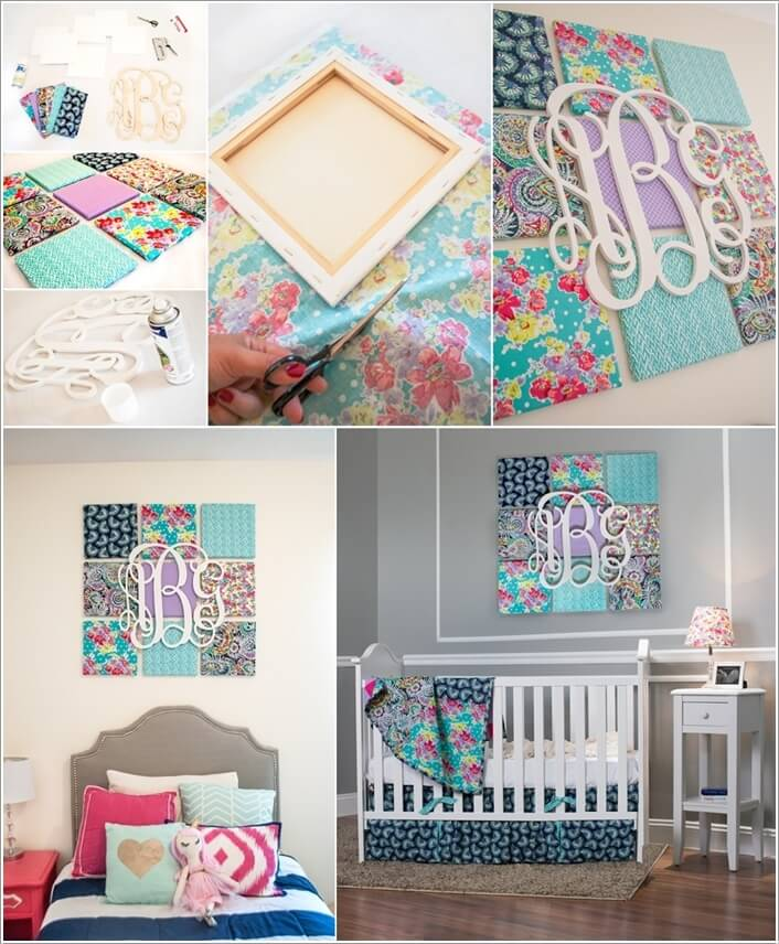 13 diy wall decor projects for your kids 39 room for Diy wall mural ideas