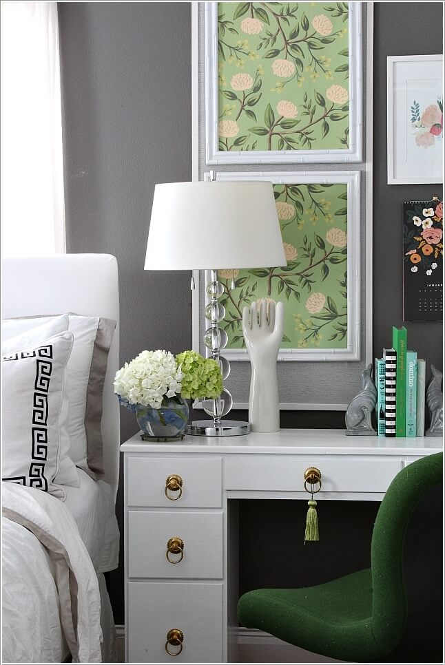 10 Ideas to Add Pattern to Your Bedroom With Else Than a Bedspread 3