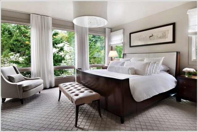 10 Ideas to Add Pattern to Your Bedroom With Else Than a Bedspread 4
