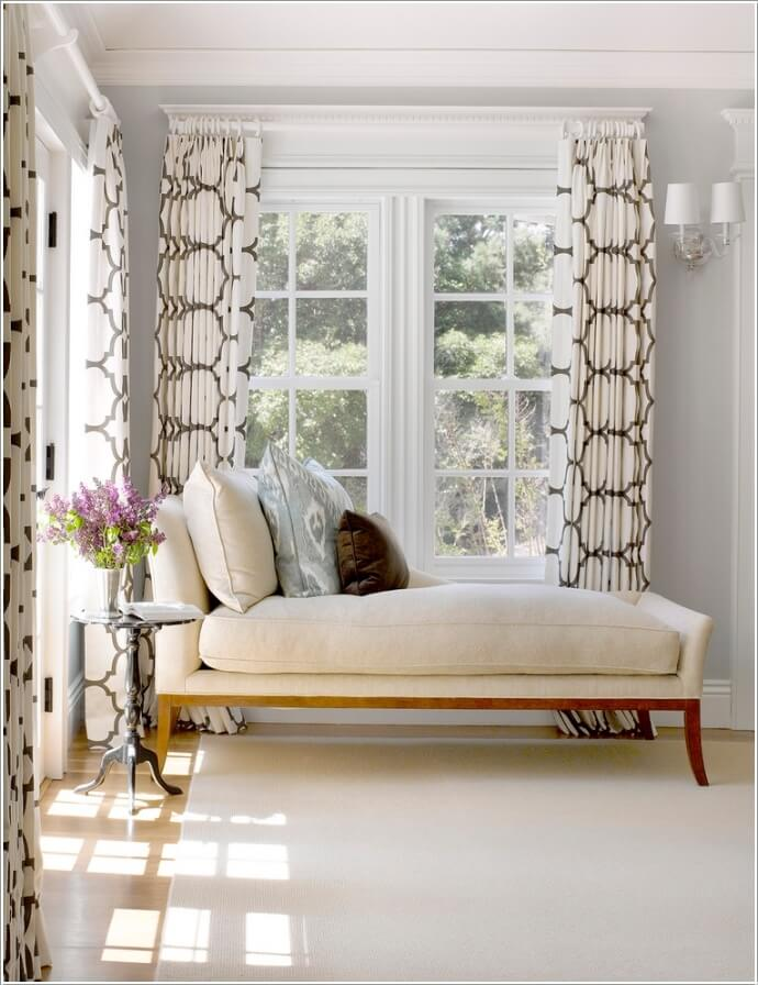 10 Ideas to Add Pattern to Your Bedroom With Else Than a Bedspread 5