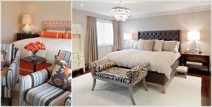 10 Ideas to Add Pattern to Your Bedroom With Else Than a Bedspread 7