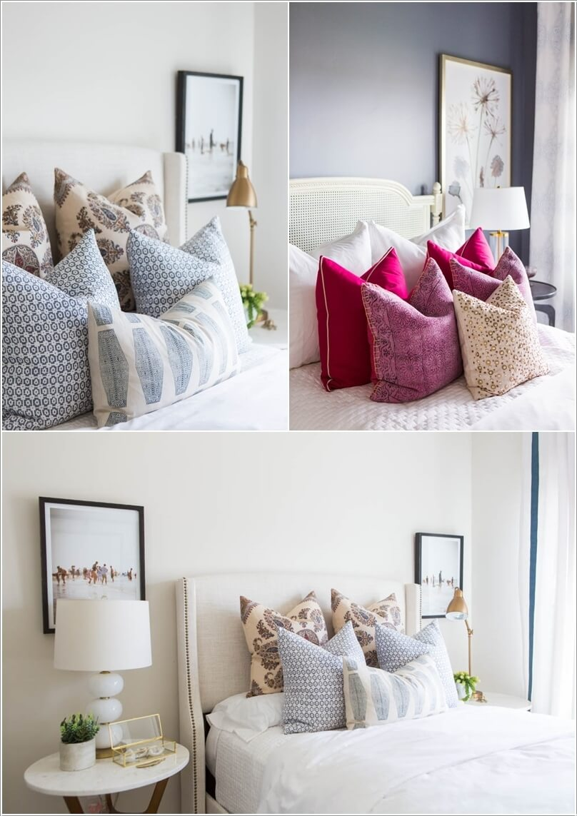 10 Ideas to Add Pattern to Your Bedroom With Else Than a Bedspread 9