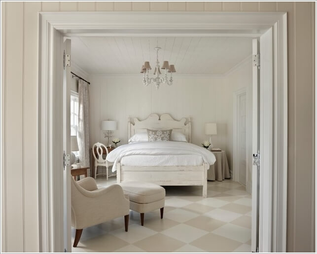 10 Ideas to Add Pattern to Your Bedroom With Else Than a Bedspread 10