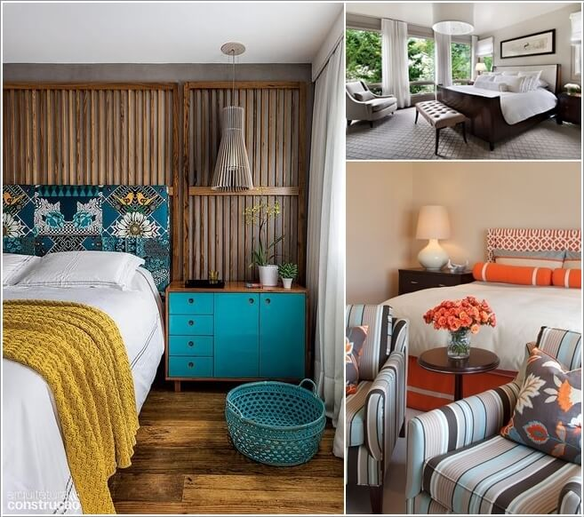 10 Ideas to Add Pattern to Your Bedroom With Else Than a Bedspread a