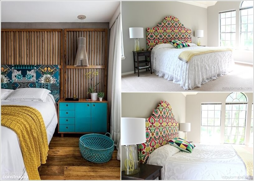 10 Ideas to Add Pattern to Your Bedroom With Else Than a Bedspread 1