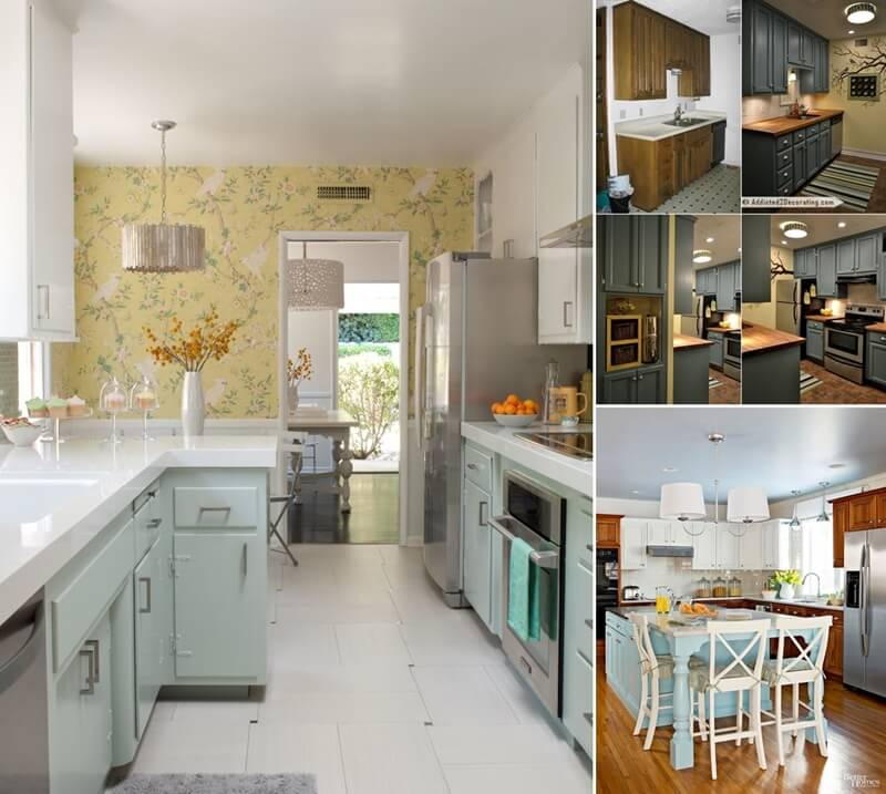 Kitchen Makeover Under 10 000: 10 Before And After Kitchen Remodeling Ideas