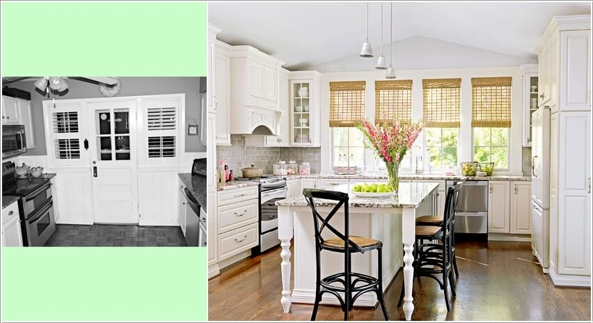 10 Before and After Kitchen Remodeling Ideas 3