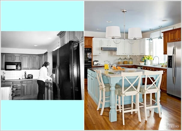 10 Before and After Kitchen Remodeling Ideas 1