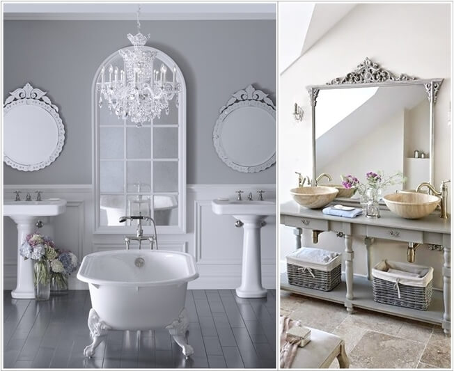 10 Lively Ways to Add Life to a Gray Bathroom 7