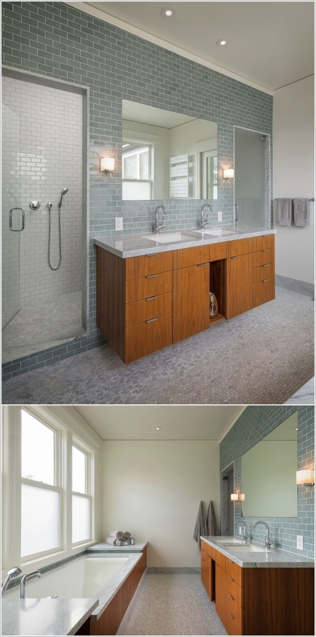 10 Lively Ways to Add Life to a Gray Bathroom 6