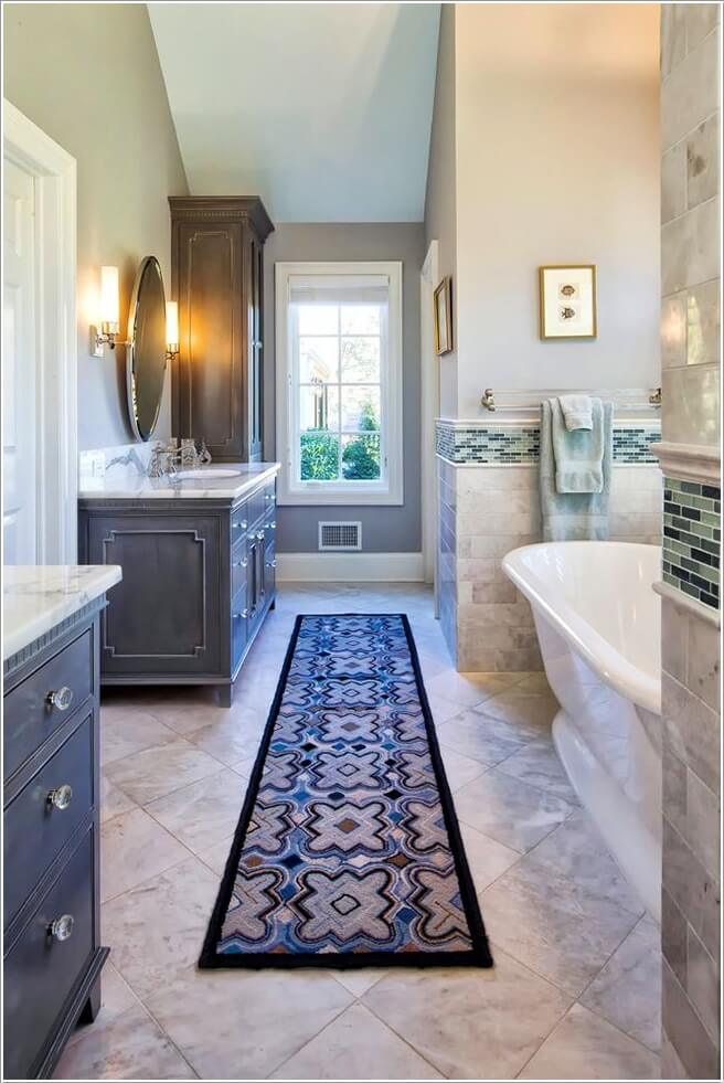 10 Lively Ways to Add Life to a Gray Bathroom 10