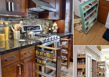10 Places in Your Kitchen to Install a Spice Rack fi