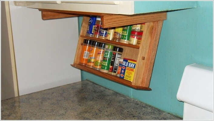 10 Places in Your Kitchen to Install a Spice Rack 10