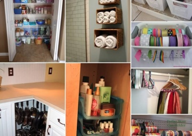 150 Clever Organization Ideas with Dollar Store Items fi