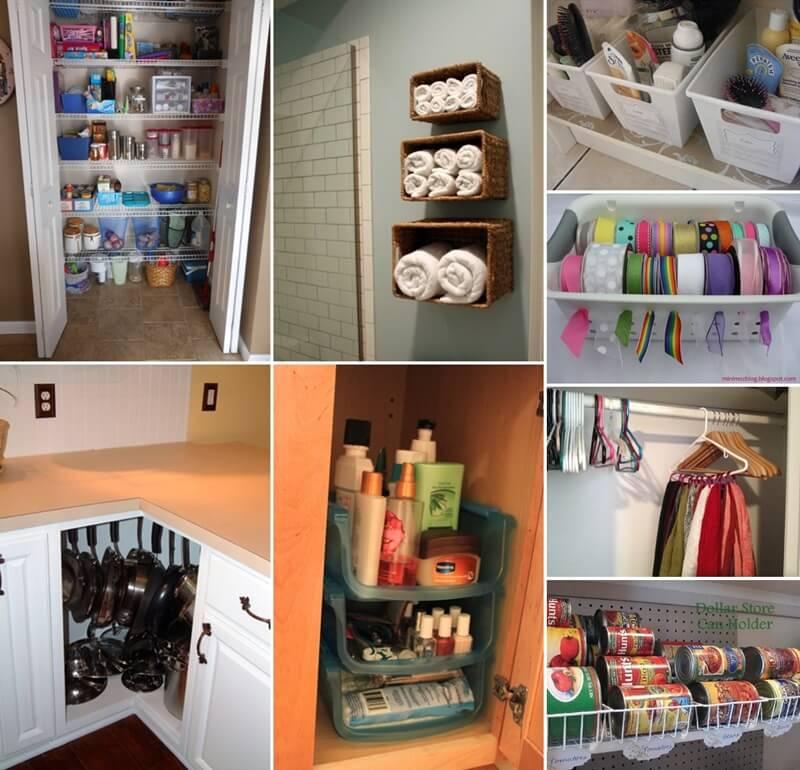 Kitchen Organization From The Dollar Store: 150 Clever Organization Ideas With Dollar Store Items