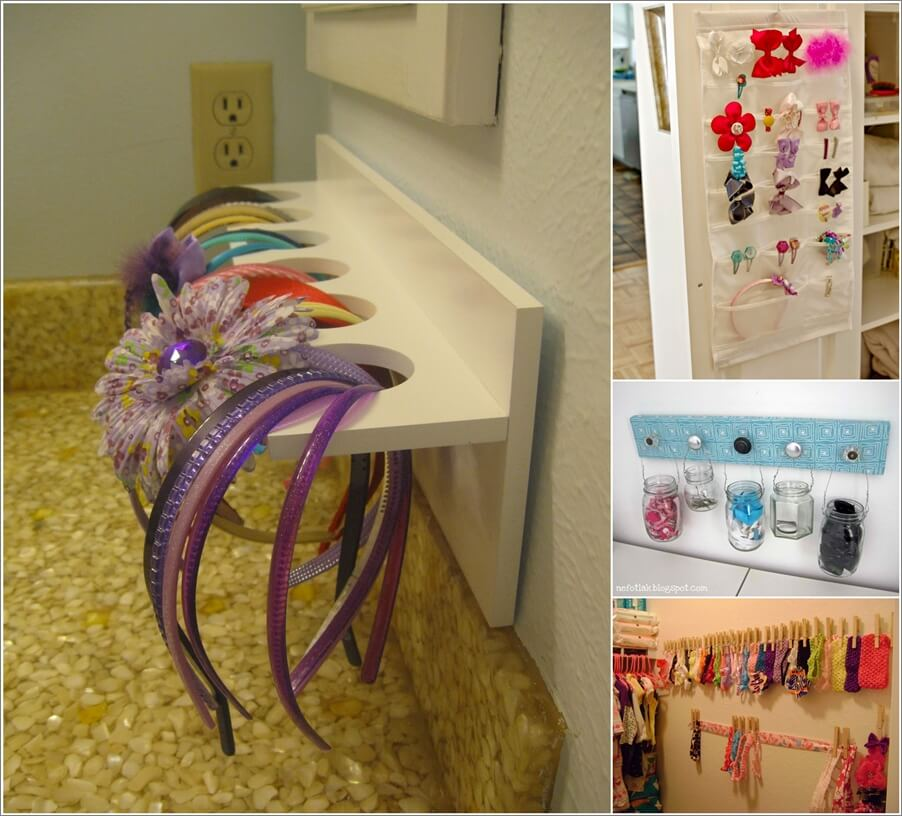 Cool Ideas to Store Your Hair Accessories 1