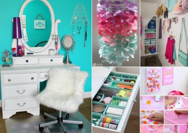 Cool Ways to Decorate a Teenage Girl's Bedroom fi