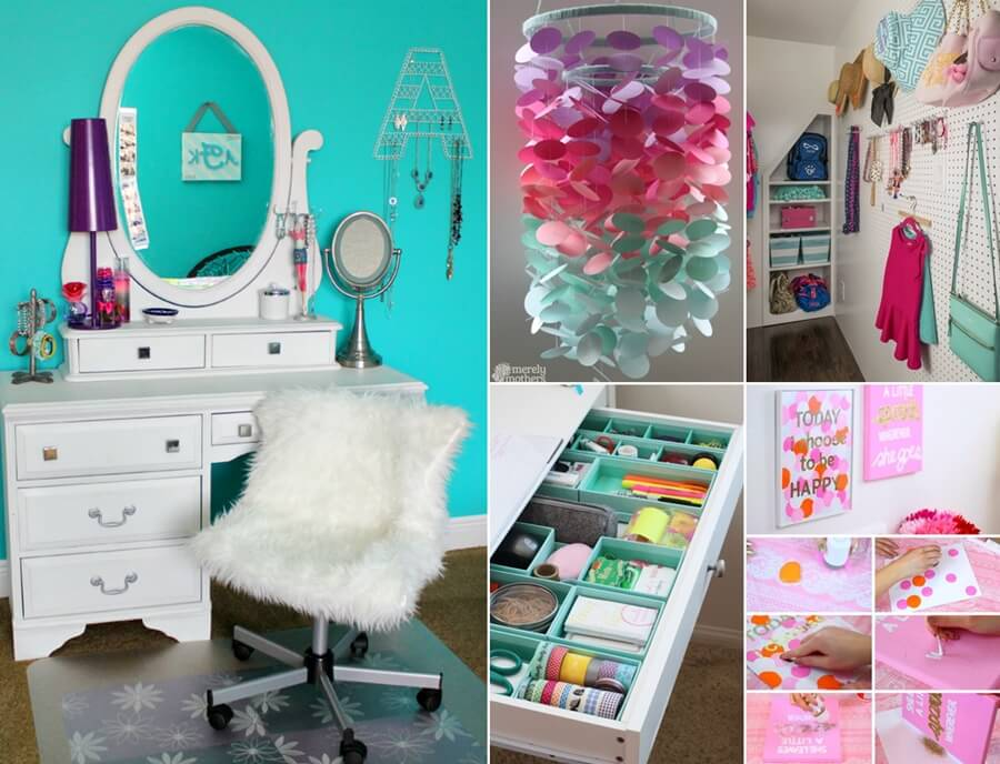 Cool Ways To Decorate A Teenage Girl S Bedroom