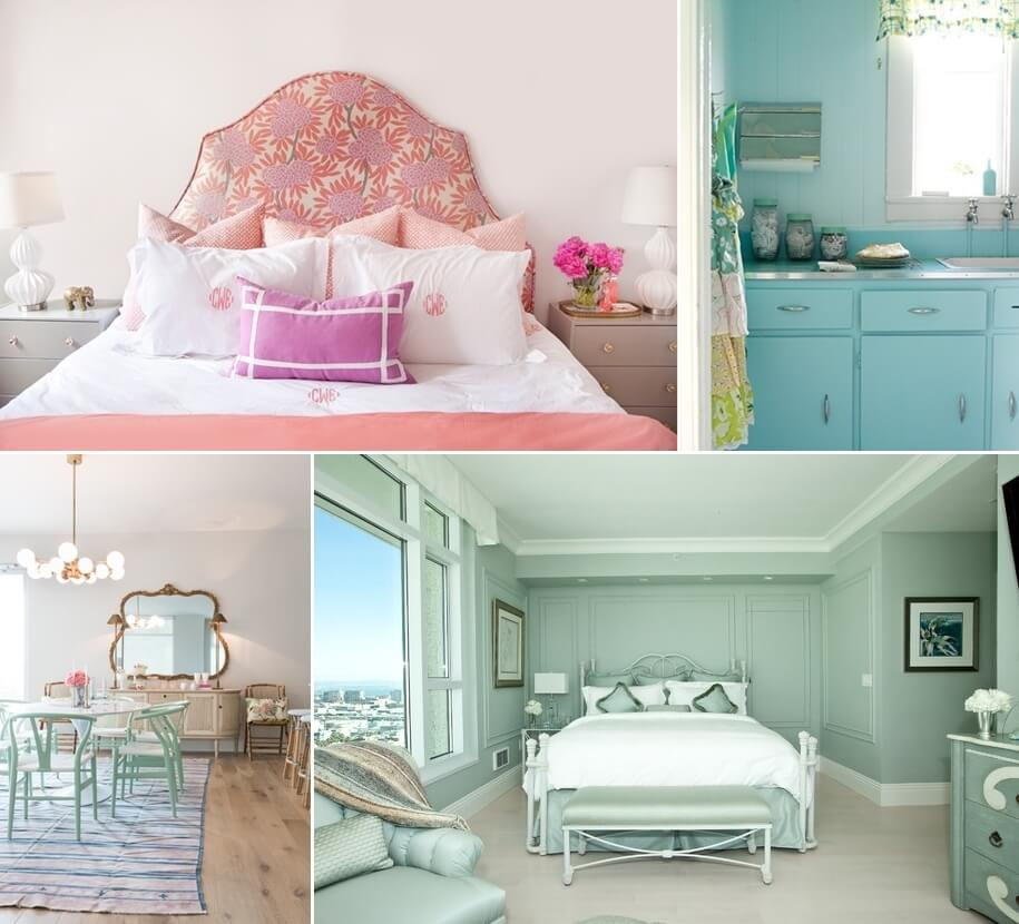 Elegant Ways To Decorate Your Home With Pastels