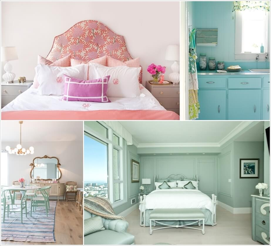 Elegant Ways To Decorate Your Home With Pastels 1