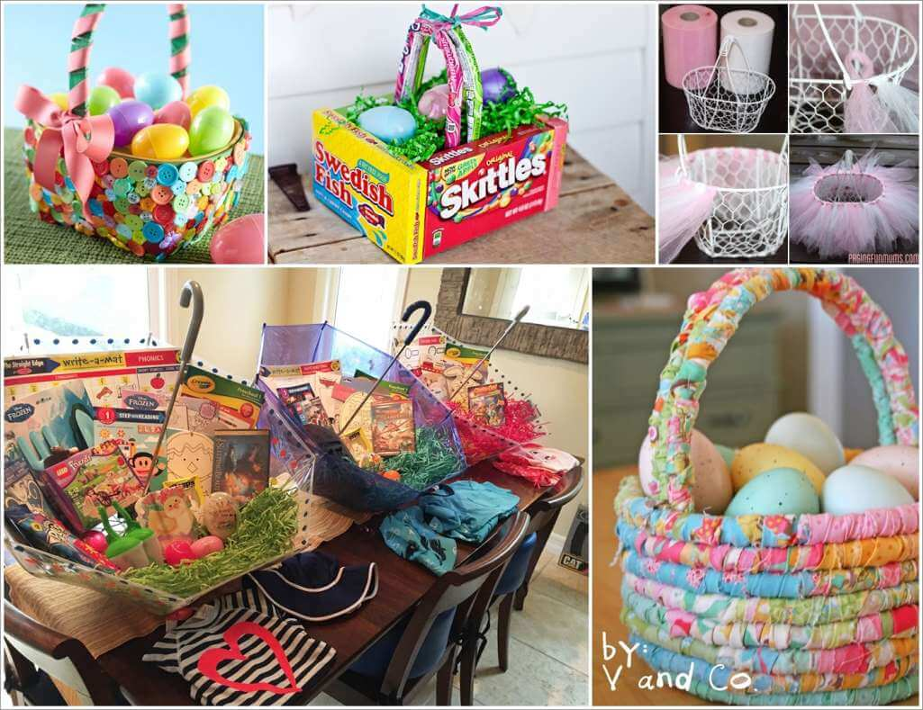 Over 25 adorable easter basket ideas over 25 adorable easter basket ideas 1 negle Image collections