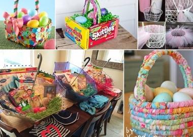 Over 25 Adorable Easter Basket Ideas fi