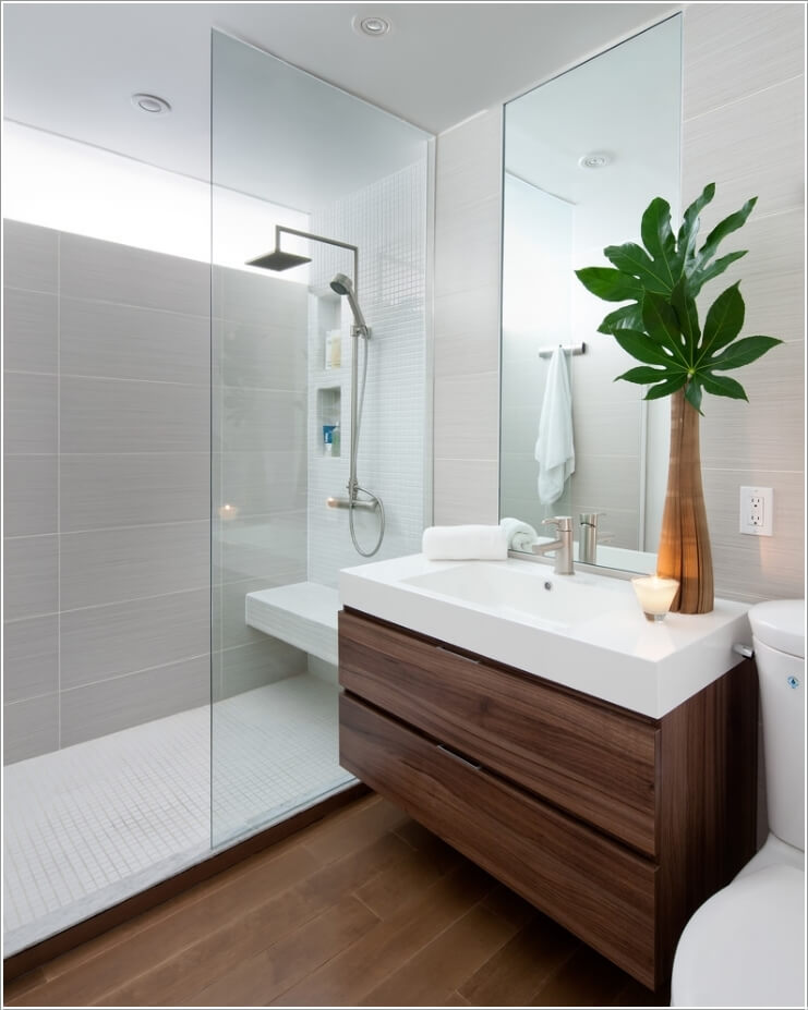 10 Amazing Bathroom Partition Options You Will Admire 2