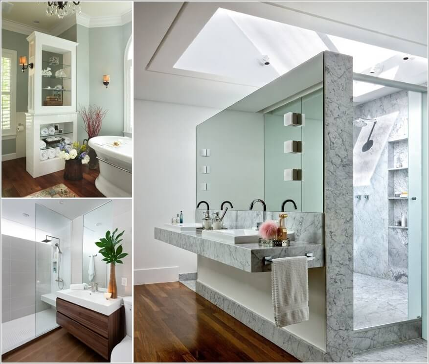 10 Amazing Bathroom Partition Options You Will Admire