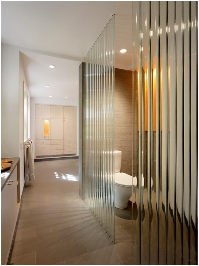10 Amazing Bathroom Partition Options You Will Admire 3