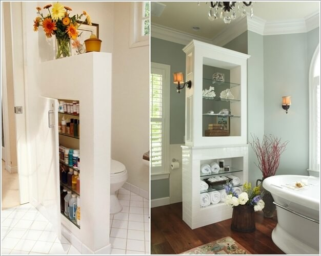 10 Amazing Bathroom Partition Options You Will Admire 4