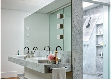 10 Amazing Bathroom Partition Options You Will Admire  1