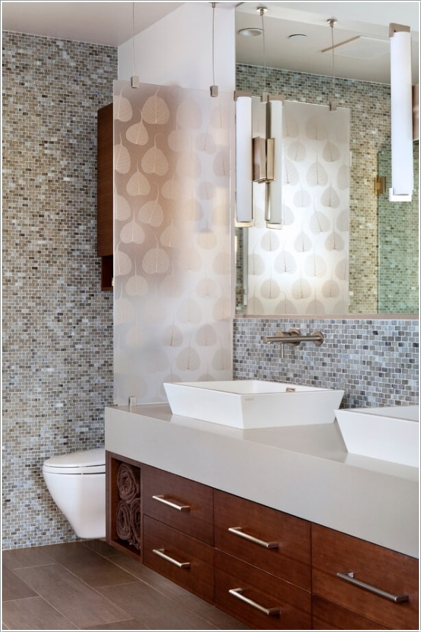 10 Amazing Bathroom Partition Options You Will Admire 8