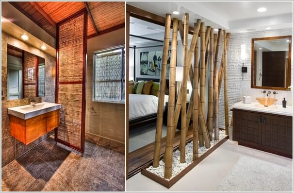 10 Amazing Bathroom Partition Options You Will Admire 9