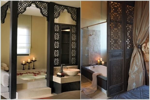 10 Amazing Bathroom Partition Options You Will Admire 10