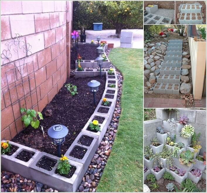 10 Amazing Outdoor Cinder Block Projects a