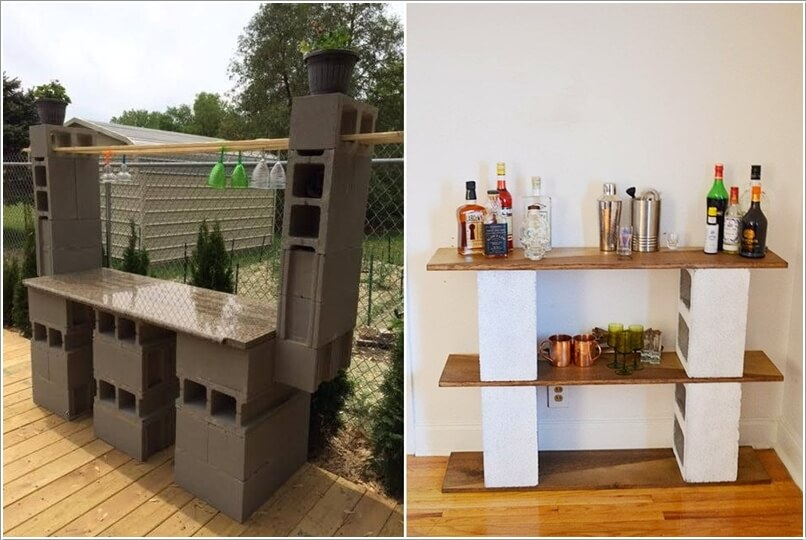 10 Amazing Outdoor Cinder Block Projects 3